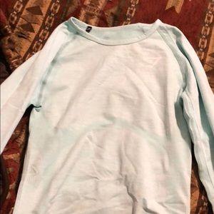 Light blue Gymshark long sleeve